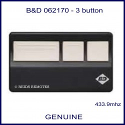 B&D 062170 3 button remote