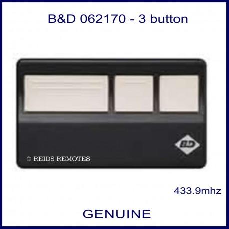 B&D 062170 3 button remote