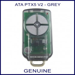 ATA PTX 5 V2  grey button garage remote
