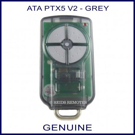 ATA PTX 5 V2  grey button garage remote