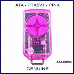 ATA PTX 5 V1 Pink garage remote