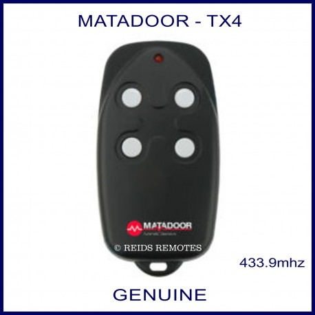 Matadoor TX4 - garage remote