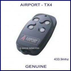 Airport TX4 - garage remote