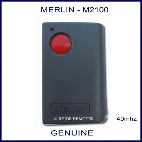 Merlin M2100 - 1 red button large garage remote control