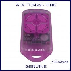 ATA PTX4V2 - SECURACODE PINK REMOTE