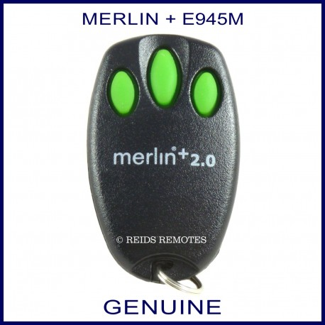 Merlin 2 0 E945m 3 Green Button Garage Door Remote