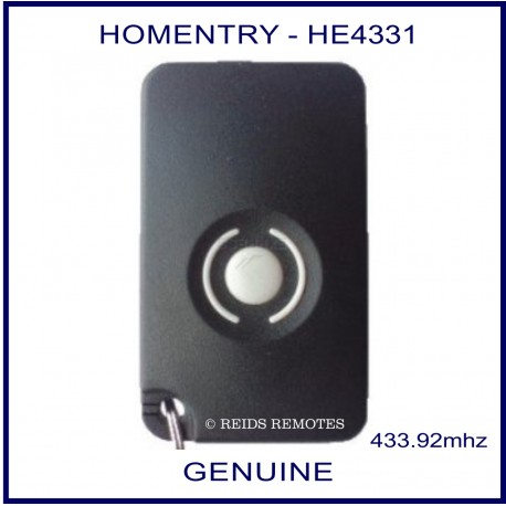 Homentry - 1 button garage remote