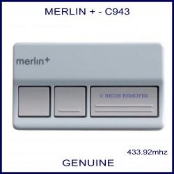 Merlin C943 - 3 button garage remote