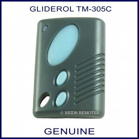 How To Program Garage Door Remote >> Gliderol TM305C blue 3 button garage door & gate remote ...