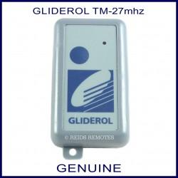 Glidermatic gtx3 large dark grey garage remote with light blue button - Garage auto pro arc les gray ...