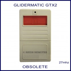 Glidermatic GTX2 - light grey garage remote red button