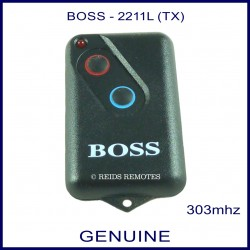 Boss HT4 2211L 303Mhz 2 button garage door remote