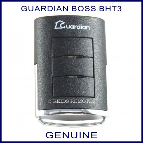 Guardian Bht3 303mhz Black 3 Button Garage Door Remote Control