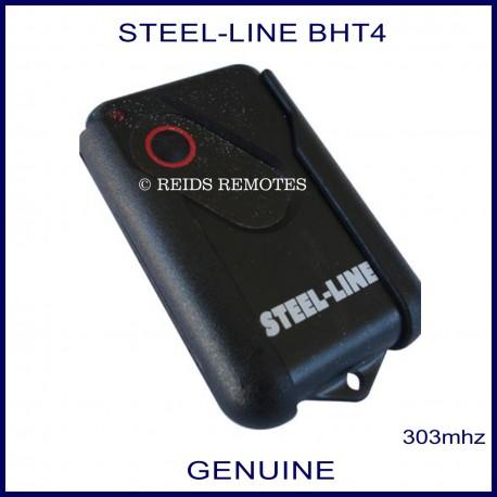 Steel Line Ht4 2211l 303mhz 1 Button Black Garage Door