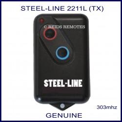 Steel-Line HT4 2211L 303Mhz 2 button garage door remote