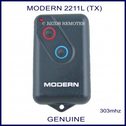 Modern HT4 2211L 303Mhz 2 button garage door remote