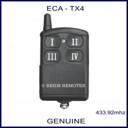 ECA TX4 - 4 channel garage and gate remote