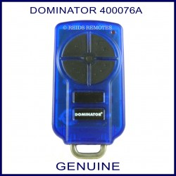 Dominator Ybs2 Black Garage Door Remote Control With 2