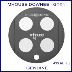 Downee GTX4 genuine gate remote