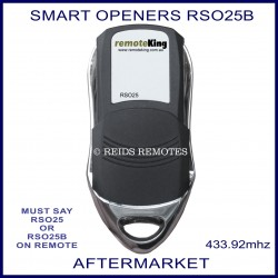 Smart Openers compatible 4 button remote