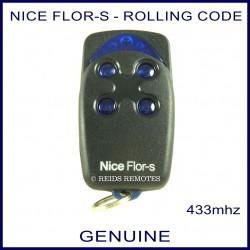 Nice Flor-s 4 button garage & gate remote