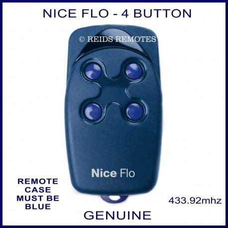 Nice FLO4 - 4 button garage & gate remote