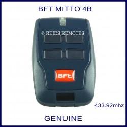 BFT Mitto 4B gate remote