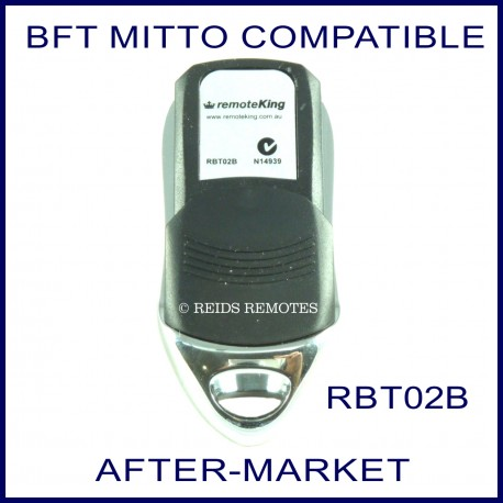 BFT Mitto compatible 4 button electric gate remote control RBT02B