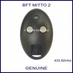 BFT Mitto 2 gate remote grey buttons