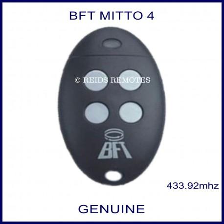 BFT Mitto 4 gate remote white buttons
