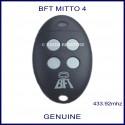 BFT Mitto 4 white button swing or sliding gate remote control