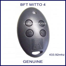 BFT Mitto 4 gate remote grey buttons