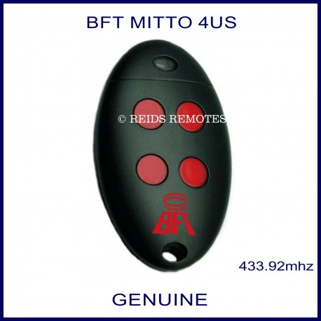 BFT Mitto 4 gate remote red buttons