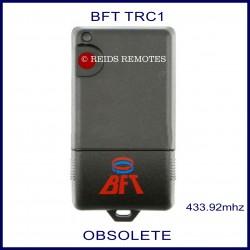 BFT TRC1 grey gate remote red button
