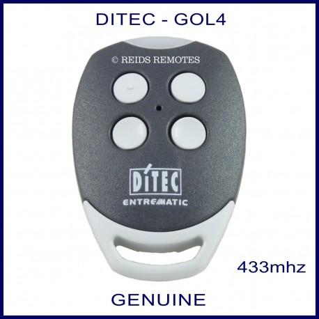 Ditec GOL 4 genuine gate remote