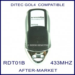 Ditec compatible gate remote RDT01B