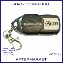 FAAC compatible 4 button after market gate remote