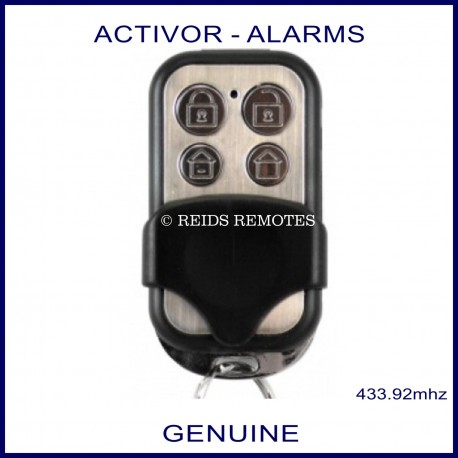 Hills Activor RTI01 genuine 4 button alarm remote front view