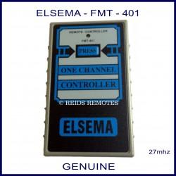 Elsema FMT401, 1 button 27mhz garage door & gate remote control