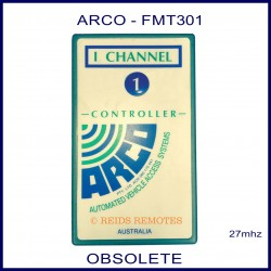 ARCO FMT301, 1 button 27mhz vehicle access remote control