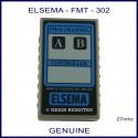 Elsema FMT-302, two channel 27mhz garage door & gate remote controller