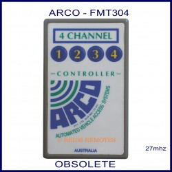 ARCO FMT304, 4 channel 27mhz remote controller