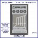 Marshall Beattie FMT304, 4 channel 27mhz gate remote controller