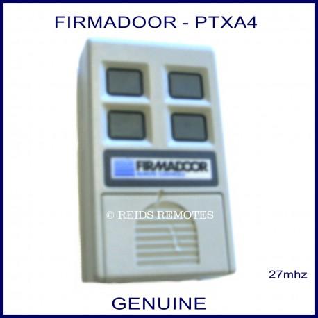 Firmadoor PTXA4, 4 channel 27mhz remote controller