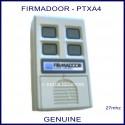 Firmadoor PTXA4, 4 channel 27mhz garage door & gate remote controller