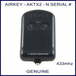 Airkey AKTX2 - N Serial number thin 4 button remote