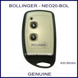 Bollinger 2 Button - NEO20-BOL gate remote