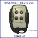 Bollinger 4 Button - NEO40-BOL gate remote control