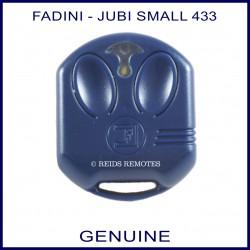 Fadini Jubi 2 Small V2 blue 2 button gate remote control