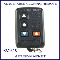 Fixed Code Garage & Gate Cloning Remote RCR10